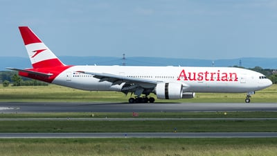 A picture of OELPA - Boeing 7772Z9(ER) - Austrian Airlines - © Gerhard Zant