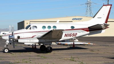 N11692 - Beechcraft C90 King Air - Private