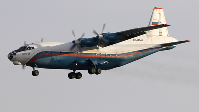 RF-12042 - Antonov An-12BK - Russia - Ministry of Interior