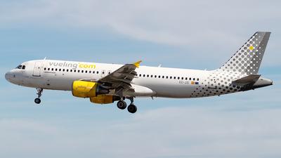 A picture of ECJZI - Airbus A320214 - Vueling - © Rui Sequeira