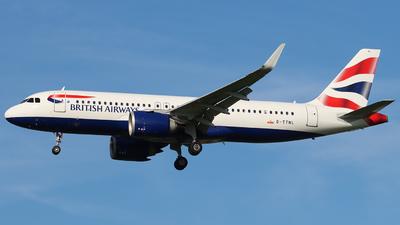 G-TTNL - Airbus A320-251N - British Airways
