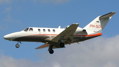 PH-SOL - Cessna 525 CitationJet 1 - Solid Air