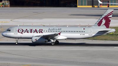 A7-AHD - Airbus A320-232 - Qatar Airways