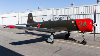 N34FP - Nanchang CJ-6A - Private