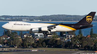 A picture of N610UP - Boeing 7478F - UPS - © John Yu