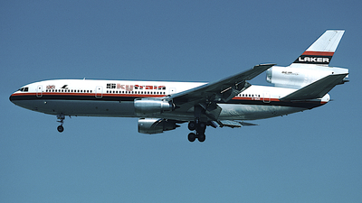 G-BGXI - McDonnell Douglas DC-10-30 - Laker Airways