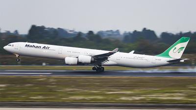 A picture of EPMMF - Airbus A340642 - Mahan Air - © YuPeng Liu