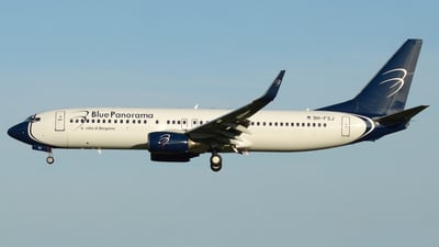 9H-FSJ - Boeing 737-86N - Blue Panorama Airlines
