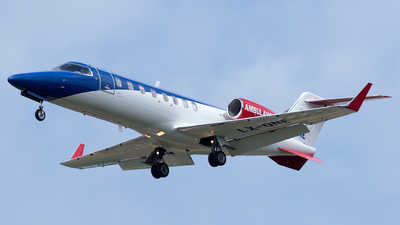 LX-ONE - Bombardier Learjet 35A - Ducair Luxembourg Air Ambulance