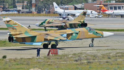 3-6811 - Sukhoi Su-24M Fencer - Iran - Air Force