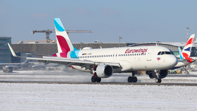 A picture of DAEWG - Airbus A320214 - Eurowings - © Justin Stöckel