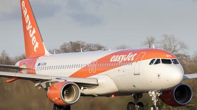 G-EZRN - Airbus A320-214 - easyJet