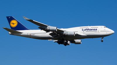 D-ABVT - Boeing 747-430 - Lufthansa