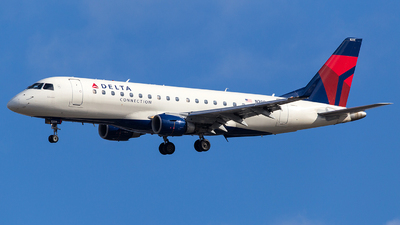 A picture of N209JQ - Embraer E175LR - Delta Air Lines - © Wenjie Zheng