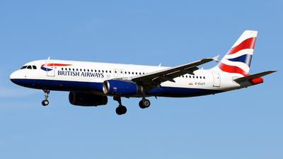 A picture of GEUUT - Airbus A320232 - British Airways - © Javier Rodriguez - Amics de Son Sant Joan