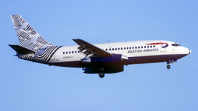 G-BGDJ - Boeing 737-236(Adv) - British Airways