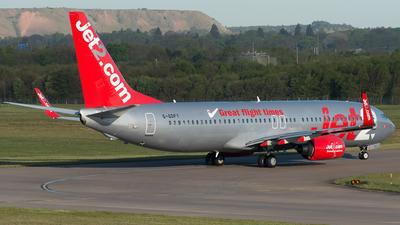G-GDFY - Boeing 737-86Q - Jet2.com