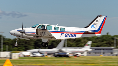 F-GNSB - Beechcraft 58 Baron - France - Direction Generale de l'Aviation Civile