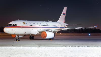 EK-RA01 - Airbus A319-132(CJ) - Armenia - Government