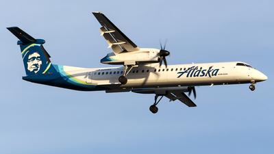 A picture of N451QX - De Havilland Canada Dash 8400 - Alaska Airlines - © Huy Do