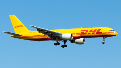 A picture of DALEN - Boeing 7572Q8(PCF) - DHL - © Julian Azeroth