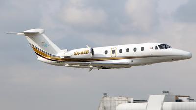 XA-AEB - Cessna 650 Citation III - Private