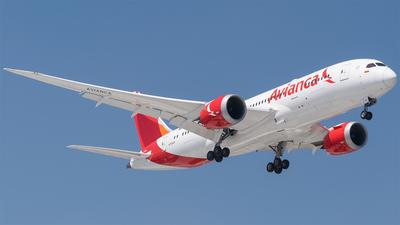 N793AV - Boeing 787-8 Dreamliner - Avianca