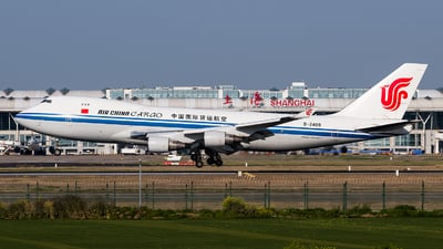 B-2409 - Boeing 747-412F(SCD) - Air China Cargo