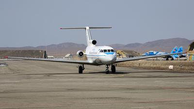 UP-Y4020 - Yakovlev Yak-40 - Zhetysu AirCompany