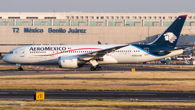 A picture of N782AM - Boeing 7878 Dreamliner - Aeromexico - © Miguel Fiesco (MAS Aviation Press)