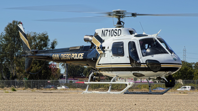 N710SD - Eurocopter AS 350B3 Ecureuil - United States - San Diego Police Department