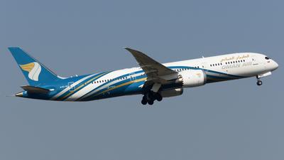 A picture of A4OSC - Boeing 7879 Dreamliner - Oman Air - © Alvin Ho - AHKGAP