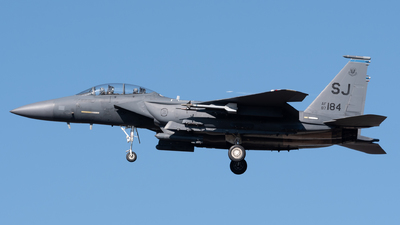 87-0184 - McDonnell Douglas F-15E Strike Eagle - United States - US Air Force (USAF)