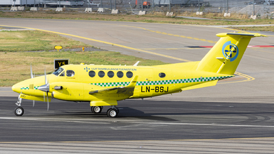 LN-BSJ - Beechcraft B200GT Super King Air - Babcock Scandinavian AirAmbulance