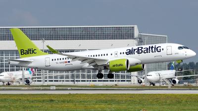 YL-AAQ - Airbus A220-300 - Air Baltic
