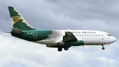 PK-JRB - Boeing 737-230C - Jayawijaya Dirgantara