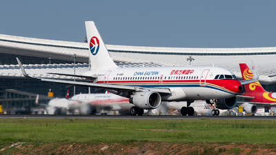 A picture of B6461 - Airbus A319115 - China Eastern Airlines - © AndySpotter