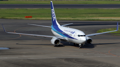 A picture of JA18AN - Boeing 737781 - All Nippon Airways - © kouyagi