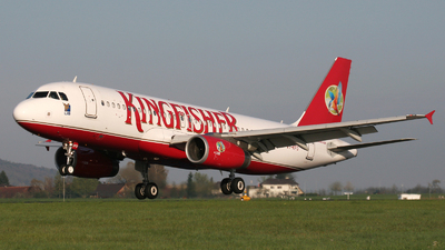 VT-KFD - Airbus A320-232 - Kingfisher Airlines