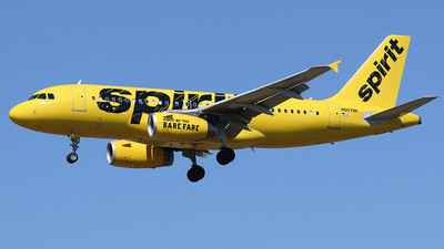 N507NK - Airbus A319-132 - Spirit Airlines