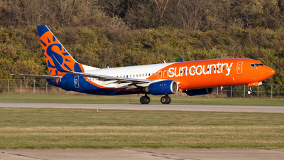 N832SY - Boeing 737-8KN - Sun Country Airlines