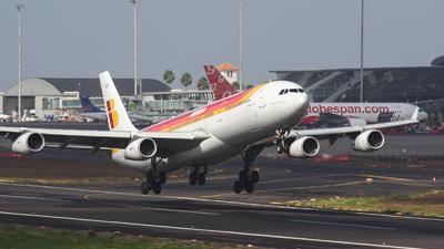 EC-HGU - Airbus A340-313X - Iberia