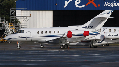 N189TA - Raytheon Hawker 850XP - Private