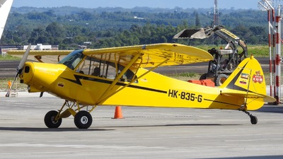 HK-835-G - Piper PA-18 Super Cub - Private