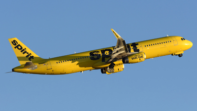 A picture of N658NK - Airbus A321231 - Spirit Airlines - © DJ Reed - OPShots Photo Team