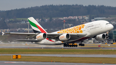 A6-EEY - Airbus A380-861 - Emirates