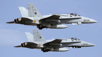 C.15-56 - McDonnell Douglas EF-18A+ Hornet - Spain - Air Force
