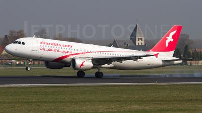 CN-NMG - Airbus A320-214 - Air Arabia Maroc