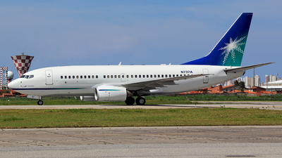 N737A - Boeing 737-7AX - Saudi Aramco Aviation