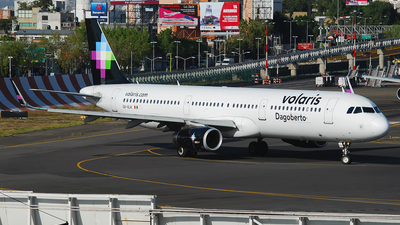 XA-VLH - Airbus A321-231 - Volaris